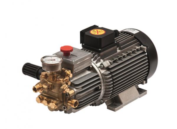 Kränzle AM-Pumpe mit Motor BG 100 mit Klemmkasten, 13L/min; 30-180 bar, 400V