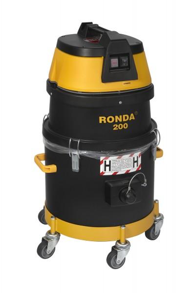 RONDA 200H-A Sicherheitsstaubsauger Asbest   Filterklasse