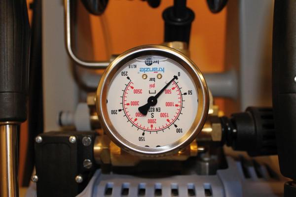 Kränzle Manometer Edelstahl 0-250 bar