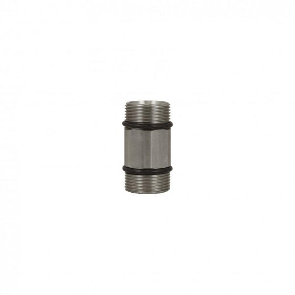 Höchstdruck-Stecknippel ST-741, M24 AG:M24 AG, max. 700 bar