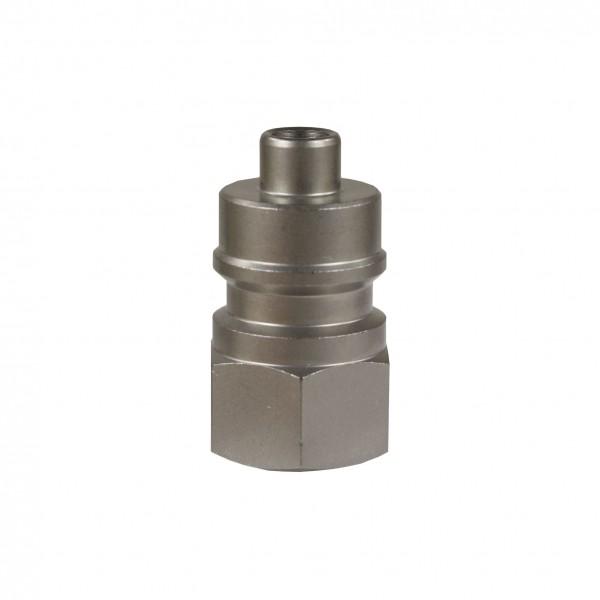 "Höchstdruck-Stecknippel ST-45-600, Edelstahl 1/4"" IG"