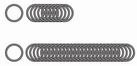 10-er Satz O-Ringe für alle Kränzle-Handverschraubungen M22
