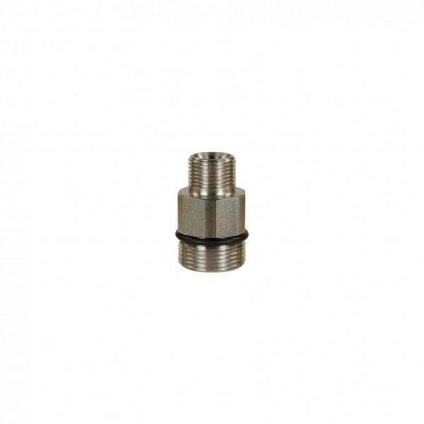 Höchstdruck-Stecknippel ST-741, AG:M24 AG, max. 700 bar