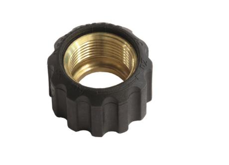 Kränzle Überwurfmutter M22x1.5 IG, ohne Knickschutz - Ø 17.5 mm für Schlaucheinbindung