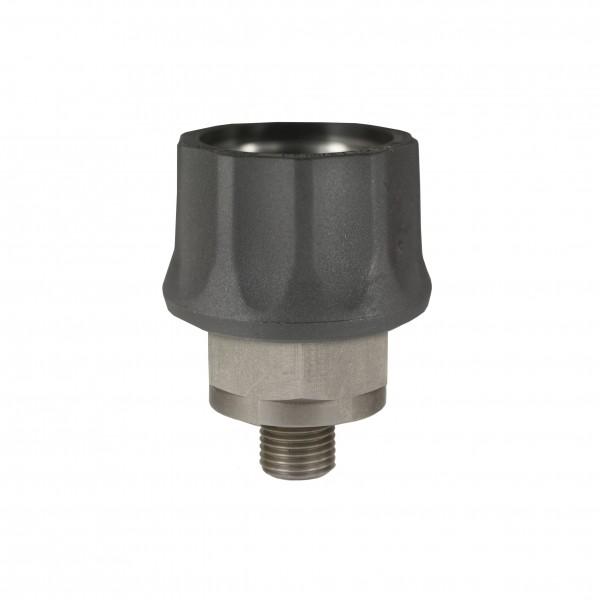 """Höchstdruck-Schnellkupplung ST-45-600, Edelstahl, 1/4"""" AG, DN8"""